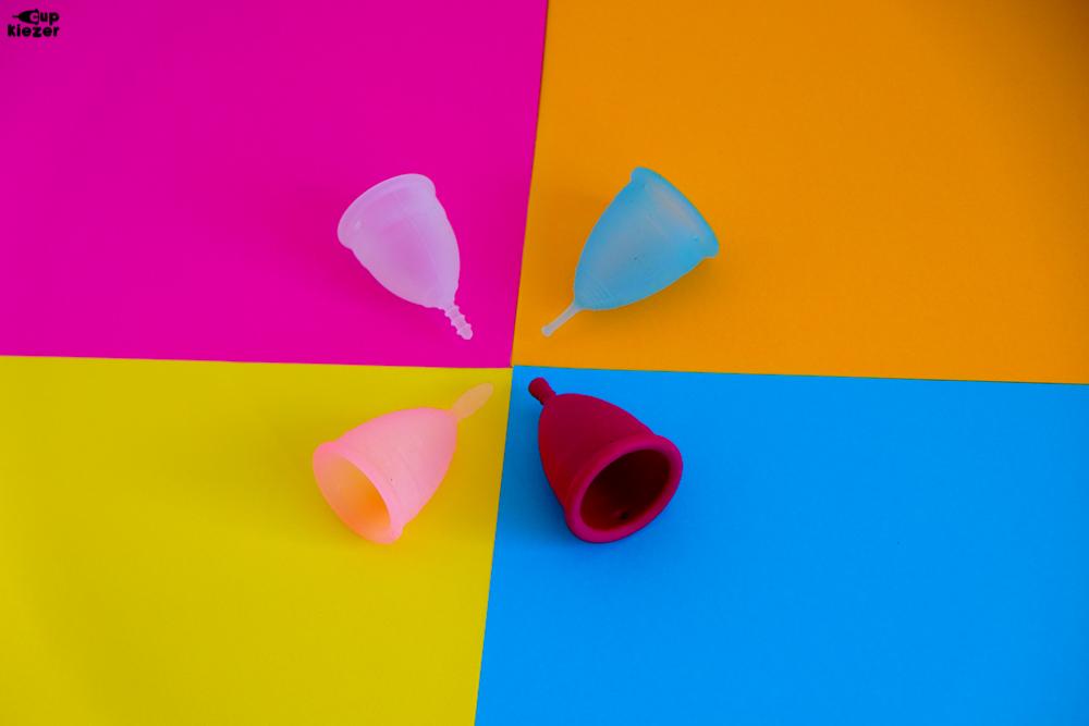 Kleuren menstruatiecups