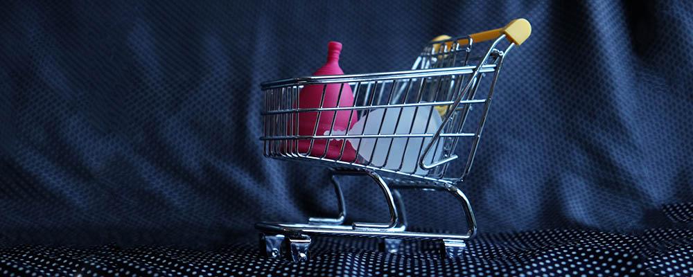 menstruatiecup kopen winkel