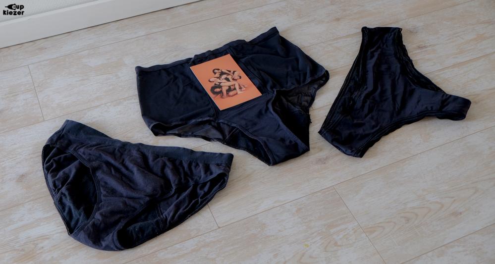 Cheeky - XXL / Black,Hi-Waist - XXL / Blacken Cotton Bikini - XL / Black.