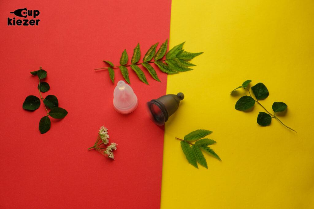 bfree menstruatiecup die anti-bacterieel is